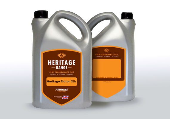 Heritage Motor Oils 5 Litres