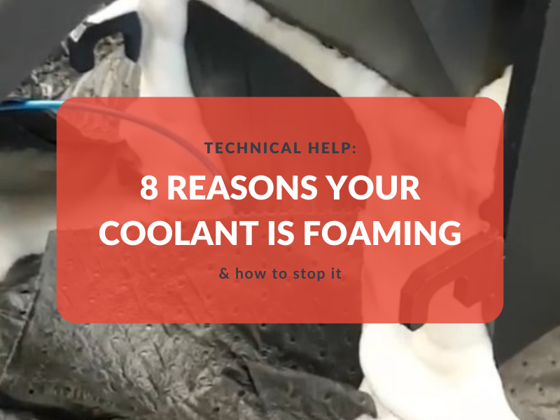 8 reasons your coolant is foaming - & how to stop it